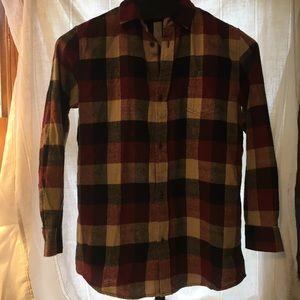 Buttondown Flannel Shirt